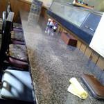 海鮮呑屋 うさぎ小屋 - 店内 カウンター席