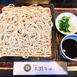 三瀬そば - 『ざるそば』様(700円)