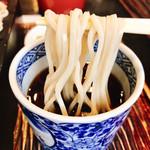 三瀬そば - ツユは九州よろしくの最後に甘味あり!