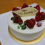 リッシュ - 料理写真:バースデーケーキ5号