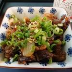 和の間 - おつまみ牛煮込み(420円)