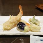 蕎喰いまとみ - 美味しい野菜天ぷら