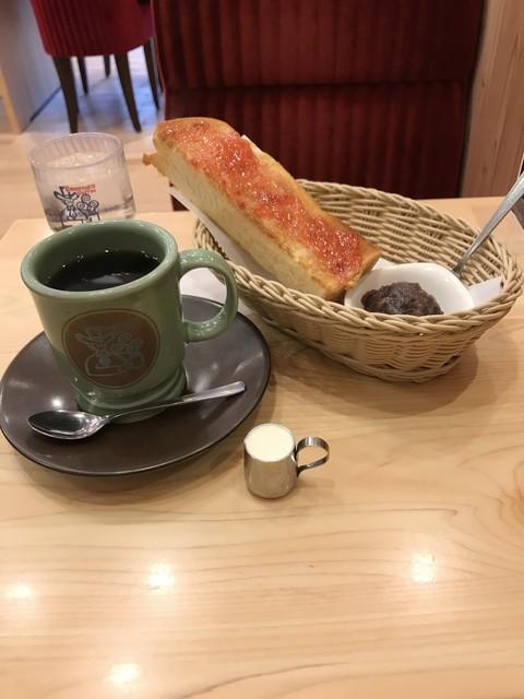 コメダ珈琲店 池袋西武前店 - H31.3 Cセット・アメリカン珈琲