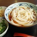 丸亀製麺 - ぶつかけ大盛¥390税込み