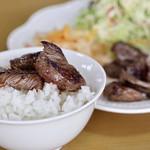 ママーズ キッチン ムラマサ - サイコロステーキ&ご飯