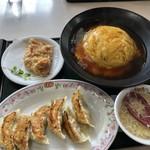 餃子の王将 - 天チャセット 950円 外税