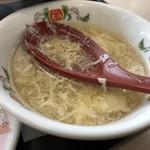 餃子の王将 - 中華スープ