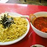 日和田製麺所 - 辛辛つけ麺「大盛」