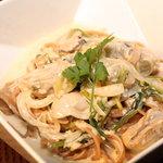 SQUARE MEALS みなもと - 牡蠣のクリーム玄米パスタ