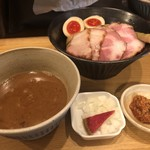 103420089 - 特製濃厚つけ麺(辛肉味噌付き) ¥1,050