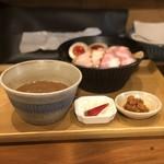 103420091 - 特製濃厚つけ麺(辛肉味噌付き) ¥1,050