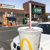 マクドナルド - ドリンク写真:アイスコーヒー・M