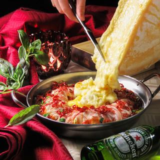 とろ〜りチーズと和食のコラボ