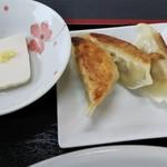 味千ラーメン - 小鉢、餃子