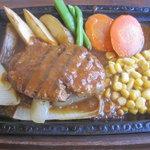 ベーカリーレストラン ヤシマ - ハンバーグランチ