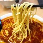 隆翔 - タンタン麺の麺リフトアップ