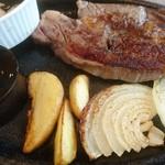 ブレッドガーデン - 牛ロースステーキ