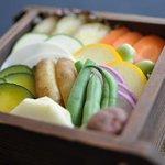 小湘亭 - 野菜ソムリエ厳選 鎌倉の農家さんが丹精込めて作った野菜をセイロ蒸しで。