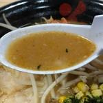 花鳥風月 - 辛味噌のスープ