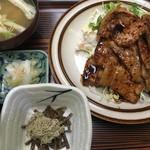 とんかつの美代 - 生姜焼き定食1,458円