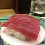立喰い寿司 七幸 - 赤身なのに淡白なマグロ