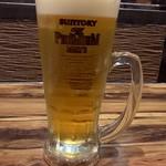 そば・ほうとう・郷土料理 信玄 - 生ビール