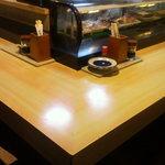 さの寿司 - カウンター