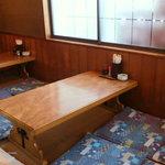 さの寿司 - テーブル席