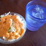ヒマラヤキッチン - セットのサラダ