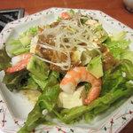 10345737 - 海老とアボカド豆腐のサラダ