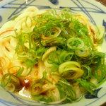 丸亀製麺 - 釜玉うどん(並)…330円