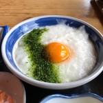 島勝 - とろろめし定食 950円。