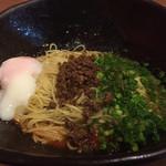 階杉 - 汁なし坦坦麺温玉のせ 700円