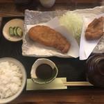 103457573 - ロース・ひれ盛り合わせ定食(2,370円)