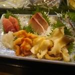 魚がし寿司 - 刺身盛り合わせ 二人前