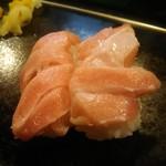 魚がし寿司 - 大トロ 250円×2