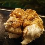 魚がし寿司 - 穴子 150円×2