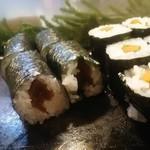 魚がし寿司 - かんぴょう巻き 150円、ゴボウ巻き 150円