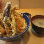 天藤 - 天丼 750円
