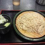 ゆで太郎 - もりそば260円