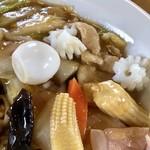 中華料理じんば - 料理写真:五目あんかけ焼きそばズーム