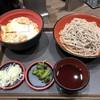 名代 富士そば - 料理写真:かつ丼セット
