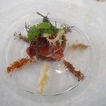 イルバンビーノ - 熊本県直送 馬肉のタルタル 数種のスパイス添え