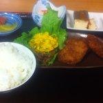 麺処 十 - おまかせ定食。