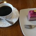 103470111 - ラズベリーなんとかとホットコーヒー