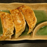 麺や そめいよしの - ハーフ餃子(3個)