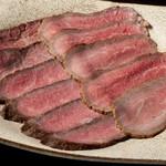 ぼうの - 料理写真:A5黒毛和牛のローストビーフ