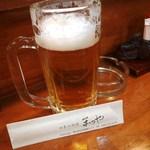 まつや活魚料理 - 生ビール