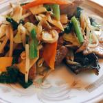 中華料理 香新 - レバーと野菜炒め