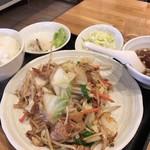 味大将 - 肉野菜定食